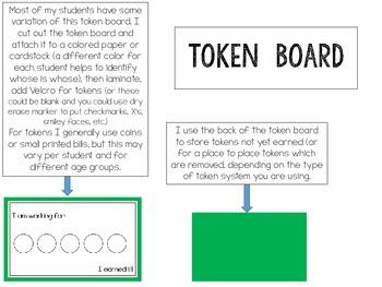 Token Boards {FREEBIE}