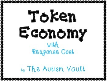 Token Economy with Response Cost for Students with Autism
