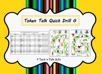 Token Talk Quick Drill for G