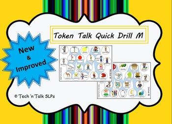 Token Talk Quick Drill for M
