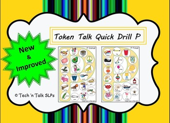 Token Talk Quick Drill for P
