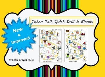 Token Talk Quick Drill for S Blends