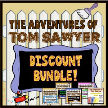 Tom Sawyer  Activities Bundle