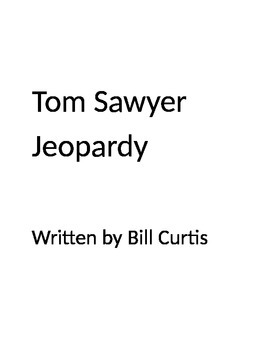 Tom Sawyer Jeopardy