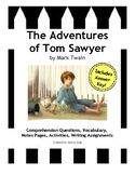 The Adventures of Tom Sawyer--Study Guide