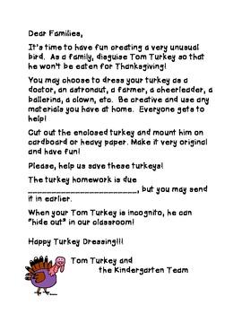 Tom Turkey Family Project