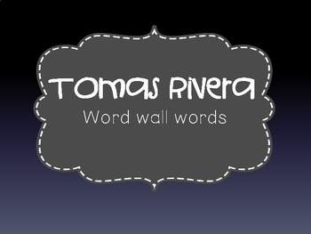 Tomas Rivera PowerPoint