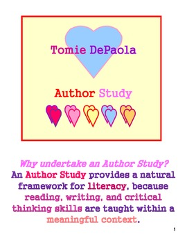 Tomie DePaola: Author/Artist Study