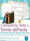 Tomie dePaola Author Study {Comparison & Contrast Writing