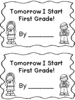 Tomorrow I Start... *Mini Book Freebie*