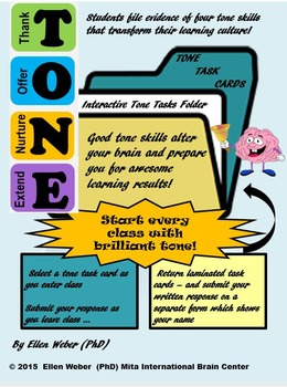 Tone Skills to Disagree - Grades 7 - 12 +