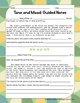 Tone and Mood: Guided Notes, Practice Activities, and Grap