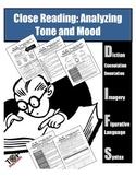 Tone & Mood Nonfiction Close Reading Diction Figurative Language