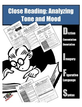 Tone & Mood Nonfiction Close Reading Diction Figurative Language