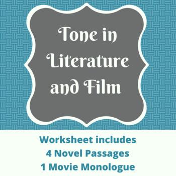 Tone in Literature and Film