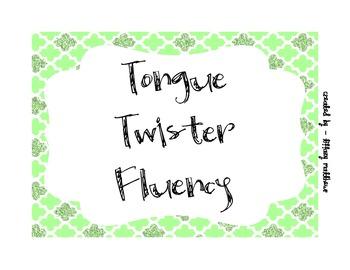 Tongue Twister Fluency