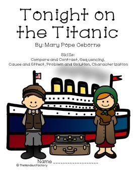 Tonight on the Titanic: Response Journal and Assessment (Test)