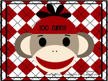 Too Funny! Sock Monkey Posters