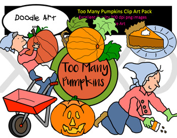 Too Many Pumpkins Clipart Pack