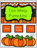 Too Many Pumpkins Literature Unit