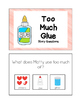 """Story Questions for """"Too Much Glue"""""""