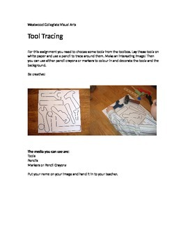 Tool Tracing- Special Needs
