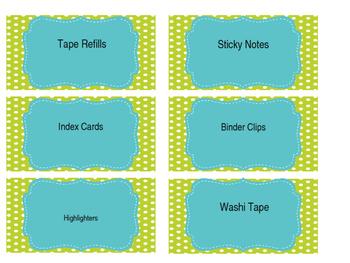 Toolbox Labels