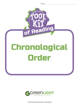 Toolkit of Reading: Chronological Order