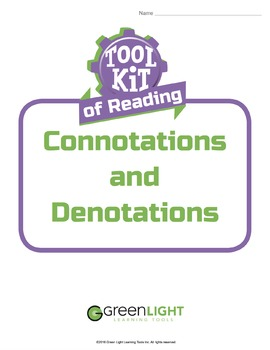 Toolkit of Reading: Connotation and Denotation