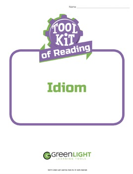 Toolkit of Reading: Idiom