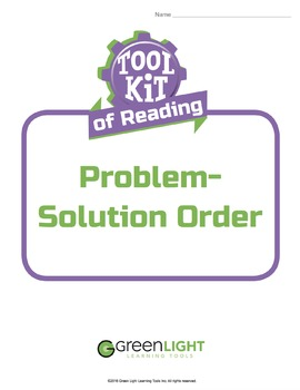 Toolkit of Reading: Problem-Solution Order