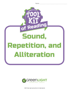 Toolkit of Reading: Sound, Repetition, and Alliteration