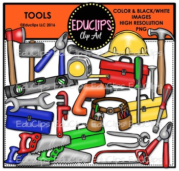 Tools Clip Art Bundle