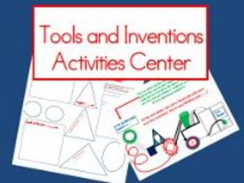 Tools and Inventions Activities Center