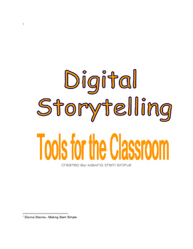 Tools for Digital Story Telling