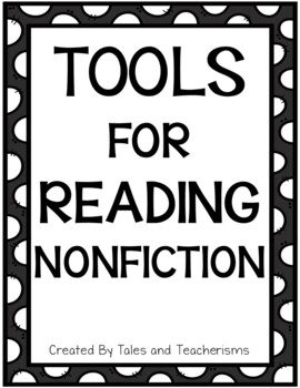 Tools for Reading Nonfiction Texts Bookmarks