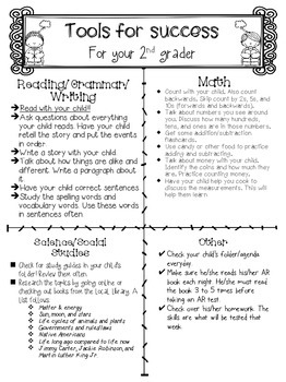 Tools for Success for Parents