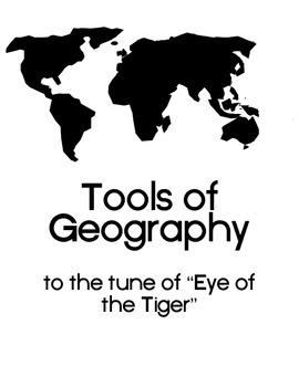 Tools of Geography: Vocabulary Song Lyrics
