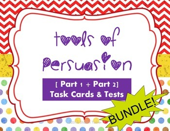 Tools of Persuasion [Part 1 + Part 2] BUNDLE! (2 tests and