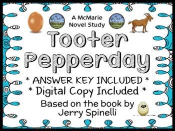 Tooter Pepperday (Jerry Spinelli) Novel Study / Reading Co