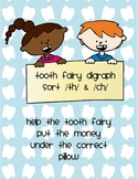Tooth Fairy Digraph Sort   /th/ & /ch/