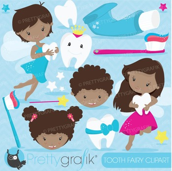 Tooth fairy clipart commercial use, vector graphics, digit