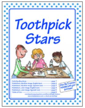 Toothpick Stars