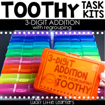 Toothy™ Task Kits - 3 Digit Addition with Regrouping