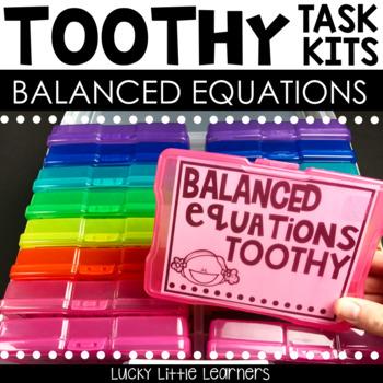 Toothy™ Task Kits - Balanced Equations