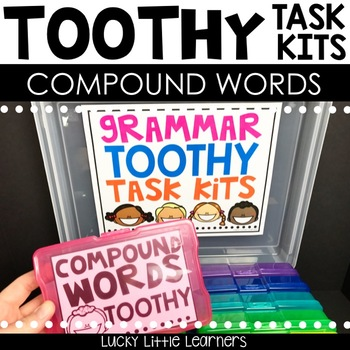 Toothy™ Task Kits - Compound Words