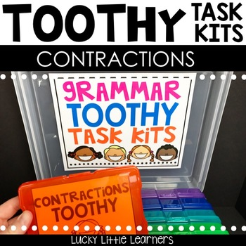 Toothy™ Task Kits - Contractions