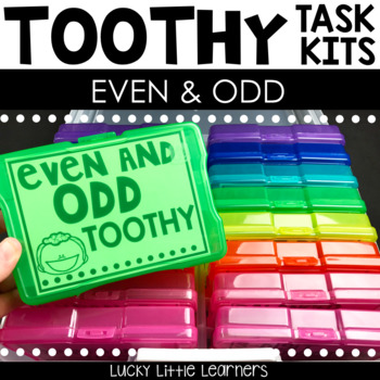 Toothy™ Task Kits - Even and Odd