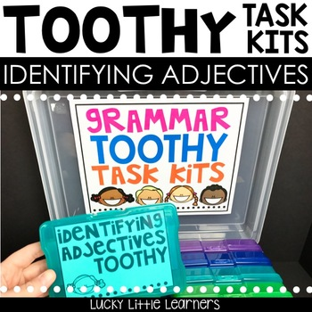 Toothy™ Task Kits - Identifying Adjectives