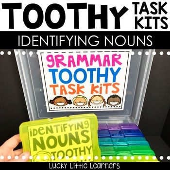 Toothy™ Task Kits - Identifying Nouns